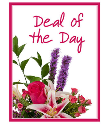 Deal of the Day from Walker's Flower Shop in Huron, SD