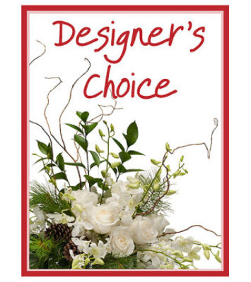 Designer's Choice - Winter from Walker's Flower Shop in Huron, SD