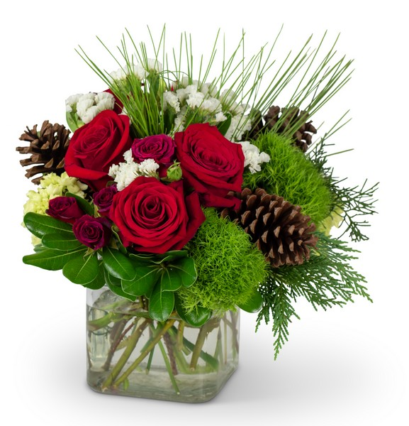 Wintertime Blooms from Walker's Flower Shop in Huron, SD