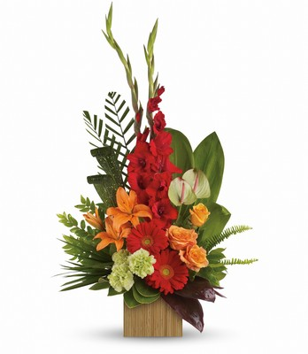 Heart's Companion Bouquet by Teleflora from Walker's Flower Shop in Huron, SD